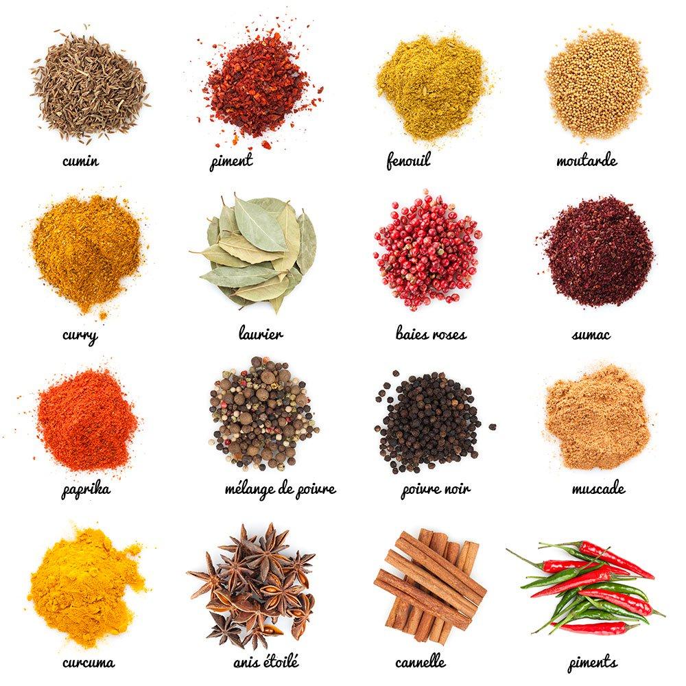 épice indiennes safran