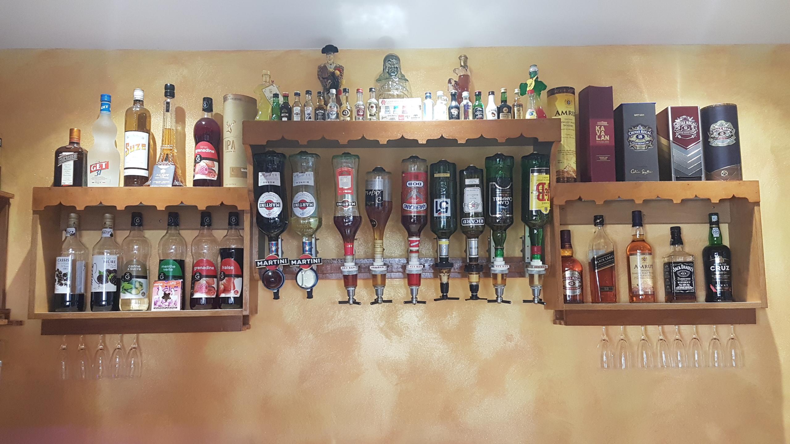 déco indien bar boissons